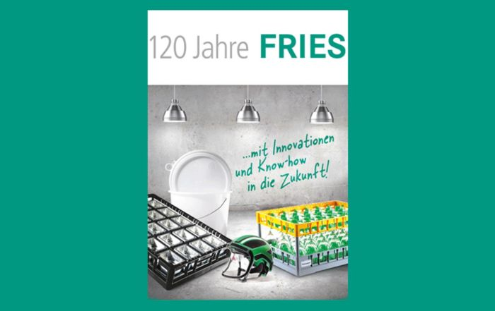 120 years of Fries Kunststofftechnik