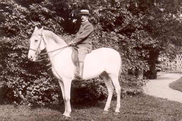 Theodor Fries on Horseback