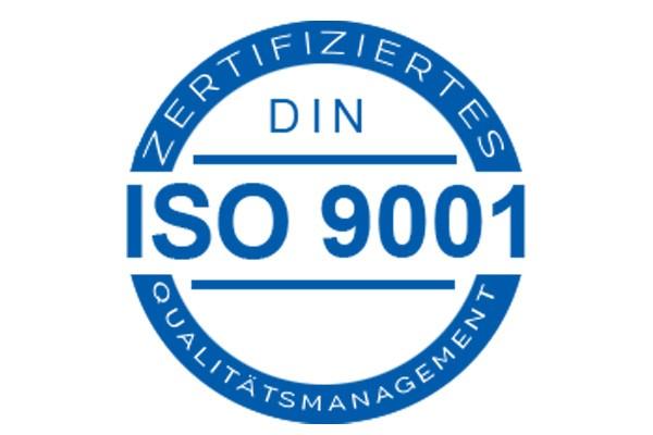 EN ISO 9001 Certificacion
