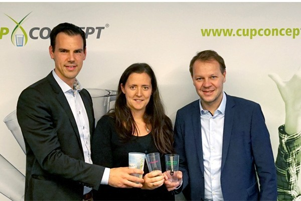 formation of cup concept belgium