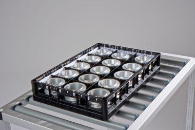 Industriekorb tech-rack 600x400 aus glasverstärktem Polyamid
