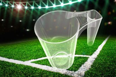 Arena Cup Mehrwegbecher aus Kunststoff