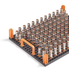 ESD conductive workpiece carrier techrack variogrid 600x400
