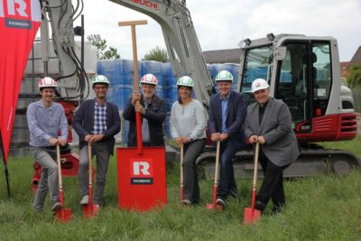 Fries groundbreaking ceremony