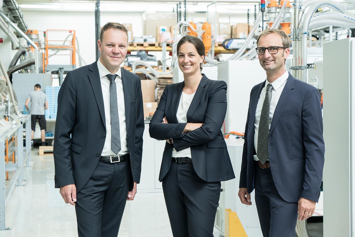 Neue Dreier-Geschäftsführung bei FRIES Kunststofftechnik GmbH