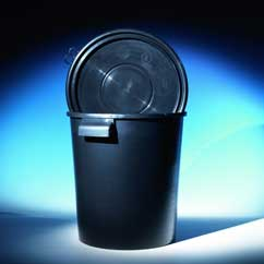 Electrically conductive hobbock bucket 30l