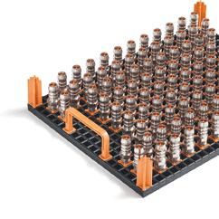workpiece carrier system tech-rack variogrid 600x400