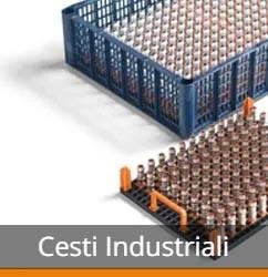 Portapezzi & Cesti per la pulizia per uso industriale