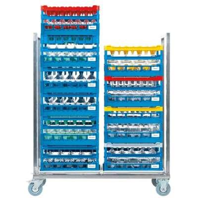 Double rack trolley drolb 500