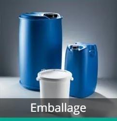 Emballages industriels pour secteurs spécifiques