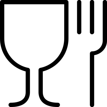 Symbol Lebensmittelkonformität Lebensmittelecht