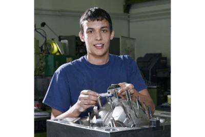 Lehrling bei Fries Kunststofftechnik