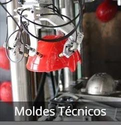 Piezas técnicas prensadas de plástico