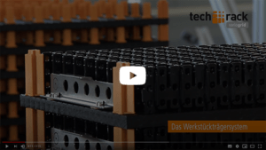 FRIES tech-rack variogrid Werkstückträgersystem Video