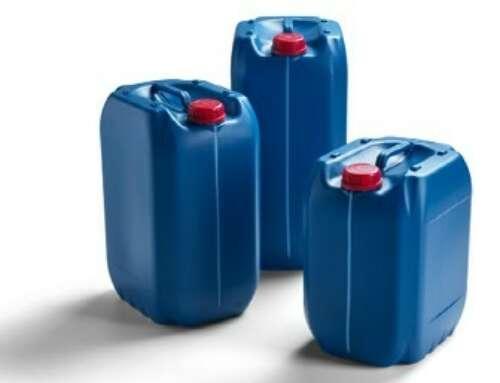 Los bidones homologados por la ONU de FRIES Kunststofftechnik, ahora disponibles con material reciclado