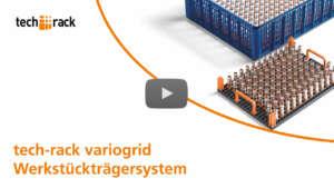 FRIES tech-rack variogrid Werkstückträgersystem Video