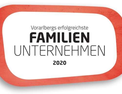 """FRIES reçoit le prix """"Entreprise familiale la plus performante du Vorarlberg 2020"""