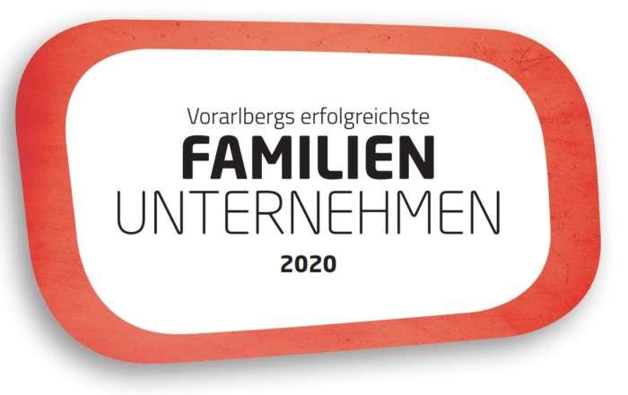 Mejor empresa familiar de Vorarlberg 2020
